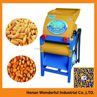 Corn shelling machine automatic electrical sweet corn husker machine for sale