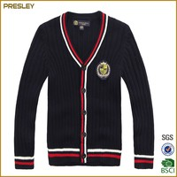 2016 New Wholesale School Black Cardigan Unisex Stylish Kids School Uniform/Sweater /cardigan school uniform
