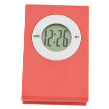 Y-2001name card clip Mini digital clock