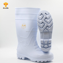 PVC White Upper Gum Sole Special Boot for Foodstuffs