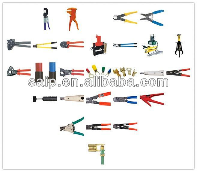 Cable Cutter Stripper Terminal Hydraulic Crimp Network Tool hydraulic cylinder repair tools