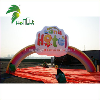 Custom Inflatable Rainbow Balloon Arch From Hongyi