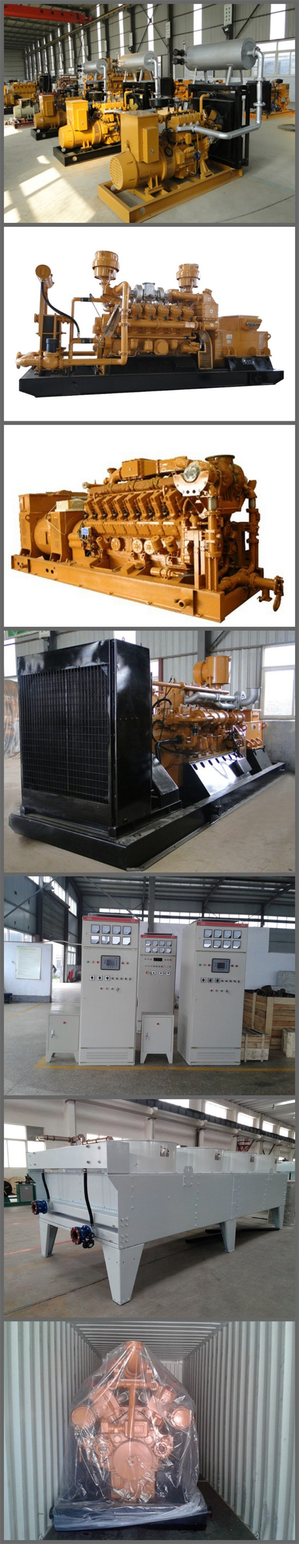 Combined heat and Power CHP Power Plant 400kw natural gas generator set