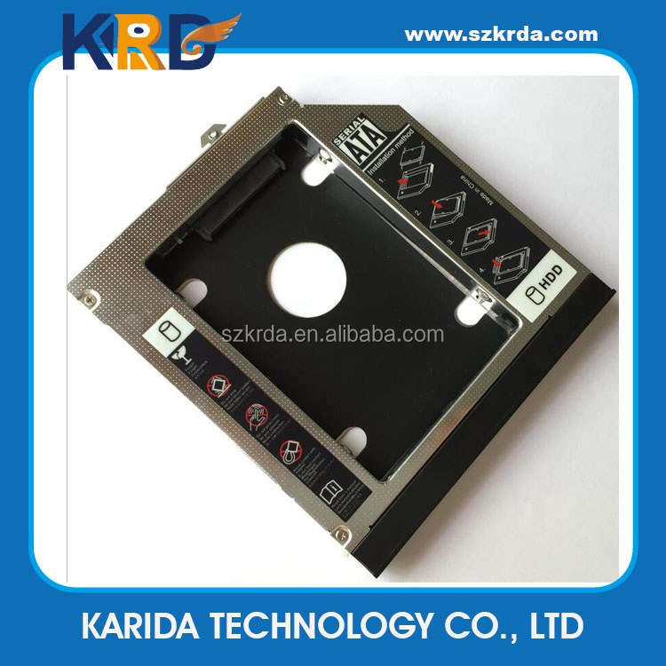 Wholesale SATA 2nd HDD Hard drive caddy for HP 6530P