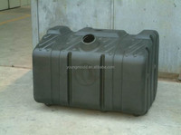 Rotomolding fuel tank mould