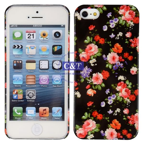 Cell Phone design three color combinations hard case for iphone5