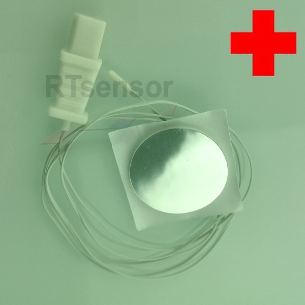 2.252Ohm 10K Thermistor Medical Skin Temperature Sensor For Human Body