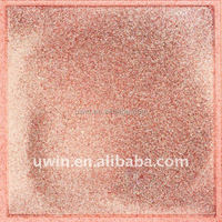 600*600mm pink glitter shiny tile,decorative floor tile