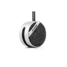 round bluetooth speaker with FM Radio and TF Card Slot for Home Car iPhone Samsung IOS Android Smart Phone and Tablet PC