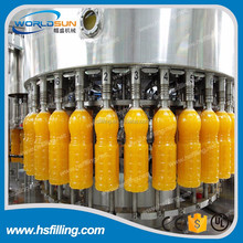 Full automatic PET bottle fruit juice filling plant