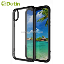 Transparent TPU PC Best Buy Mobile Phone Case for iPhone 6 6S 7 Plus 8 Plus X Samsung Galaxy Note Edge Case
