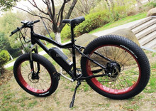 2016 super downhill electric bike with Samsung lithium battery