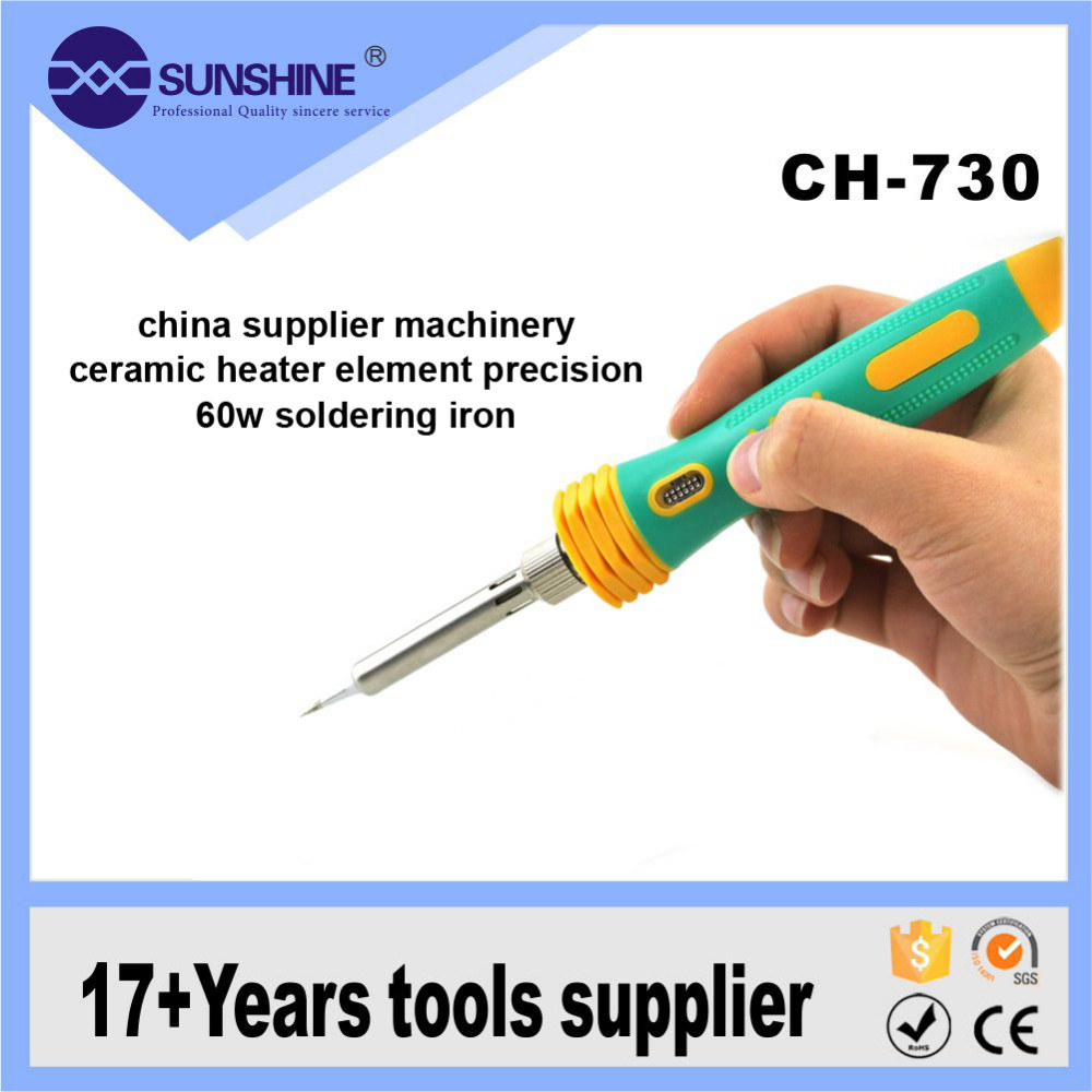 Wholesale constant temperature soldering iron goot kit with led light