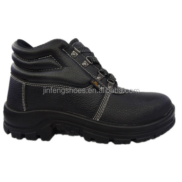 usa wholesale pu injection sole leather china cheap export surplus safety steel toe shoes for men workers safety work boots