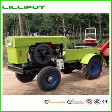 12HP Diesel Engine 4-Wheel Small Tractor