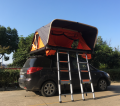 Orange Soft Roof Top Tent With Double Ladders