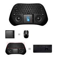 High Quality USB 2.4G Wireless Keyboard With Android Touchpad Fly Mouse PC Smart TV Keyboard