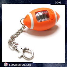 FOOTBALL DIGITAL TIRE GAUGE KEYRING