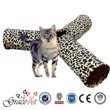 Pet toy cat tunnel 3 way for bed
