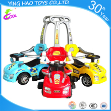 Fashionable Stroller Car Baby 3 in 1 Push &Pedal Ride On Car