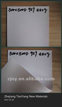 Eco-solvent Printable Laminated PVC flex 500D 9*9 440g