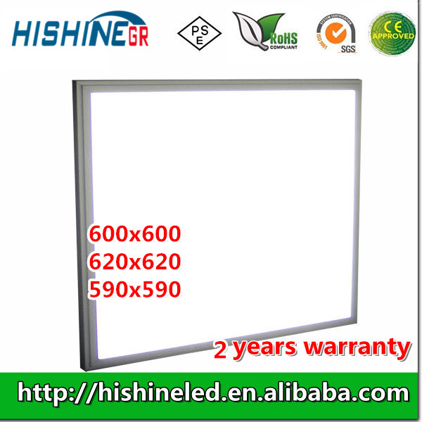 Ultra-thin led recessed ceiling panel light 60x60 led panel light 36w with CE RoHS PSE Certificates