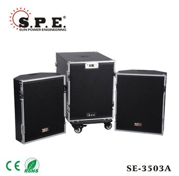active bluetooth speaker 3-way PA system touring sound system SE-3503A