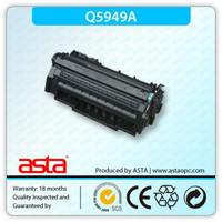 shenzhen ASTA supplier For hp original toner cartridge Q5949A toner cartridge factory 49a black toner china