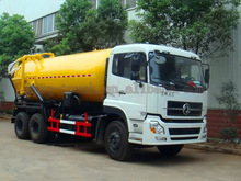18000L Flushing truck fecal suction truck automatic flushing cistern sewage pump truck