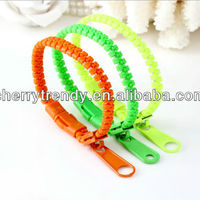 Zipper Bands Zip Bracelets Unisex Fashion