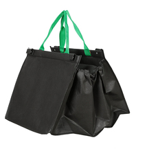 Wholesale eco-friendly foldable non woven shopping trolley bag