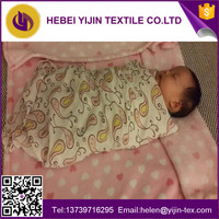 100% cotton blanket baby bedding cloth flannel fabric