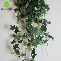 wholesale vine artificial green plant wall hanging leaf