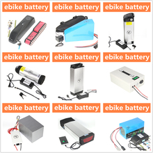 Portable USB port electric bike car 36v 48v 14ah 15ah 25ah long life cycle ebike battery