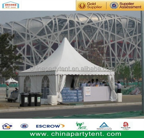 Outdoor tent gazebo for sale decoration with white lining