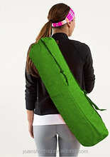 Yoga Mat Bag %100 Cotton, Open with Draw String Closure with Shoulder Strap & Pocket yoga bag