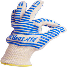 Hot Sales!!!2015 Alibaba China Kitchen Oven Heat Resistant Silicone BBQ Gloves
