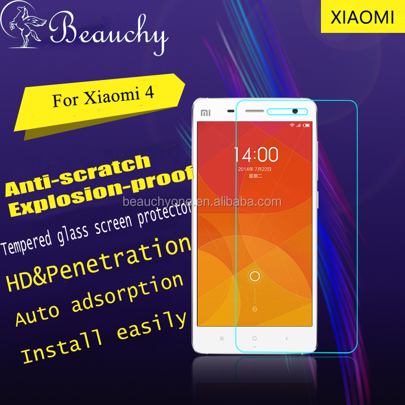 The best quality soft 9h explosion-proof tempered glass screen protector for Xiaomi, nano shield anti shock screen protector