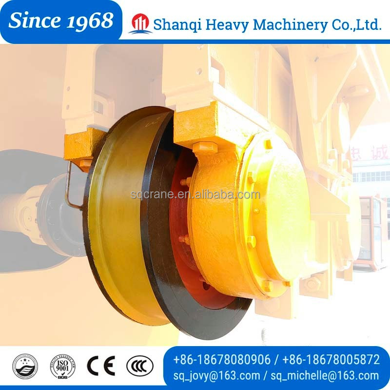 Better Durable Bridge Crane Alloy Cast Bogie Wheel For Sale