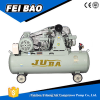 electric/gasoline/diesel portable piston type direct /silent air compressor