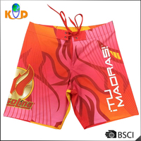 Sublimation Printing Casual Short Pants 100D