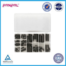120pc Roll slotted spring Pin Assortment