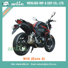 Factory price sport motorcycle 150cc/200cc bike 125 cc EEC Euro4 Racing Motorcycle N10 125cc Water cooled EFI system (Euro 4)