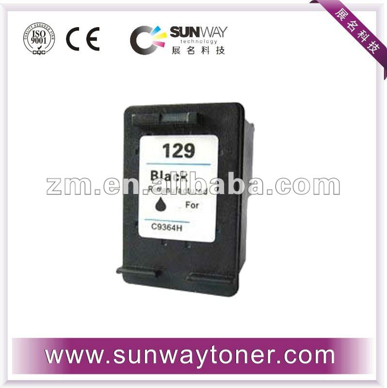 100% quality guarantee ink cartridge for HP 129(C9364H)