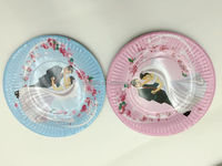 "5"" Paper Cupcake Tray ,Paper Cake Tray Plate Dinner Plate Cake Cup Candy Cake Case"
