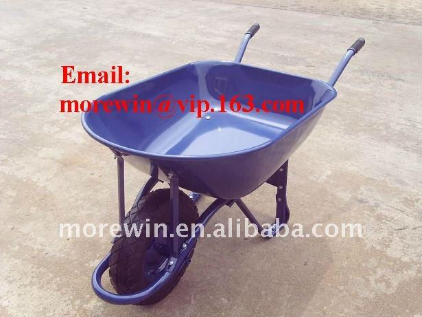 strong large construction wheel barrow