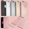 New Luxury Removable cheap pc 3 in 1 protective mobile phone cases electroplating quality mobile phone back covers for iphone 7