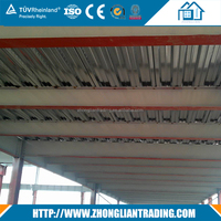 Galvanized galvanized corrugated Metal Decking sheet for Africa