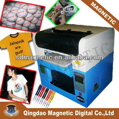 MDK- A3 flatbed digital garment printer machine