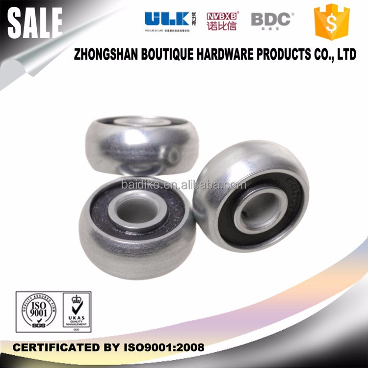 custom groove bearing C3 C0 2rs bearing silence round bearing stainless steel ball bearing price list BDC-BB006 ISO9001 RoHS
